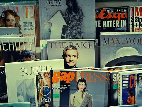 Magazines, Bookshop, Read, Magazine Trade, Magazine