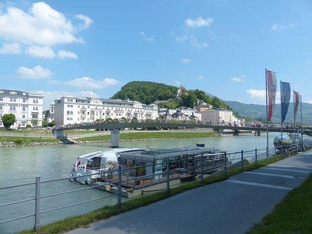 Salzburg, Neustadt, Villas, Uptown, Salzach