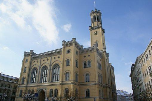 Zittau, Upper Lusatia, Town Hall, Schinkel