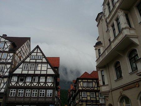 Fachwerkhaus, Storm, Hanovarian Lead, Mountain World