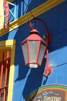 Street Lamp, Lantern, Argentina, Buenos Aires, District