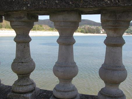 Sea, Balusters, Views, Cedeira, Beach, Landscape