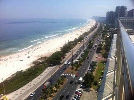 Rio De Janeiro, Praia Da Barra, Walmart Event