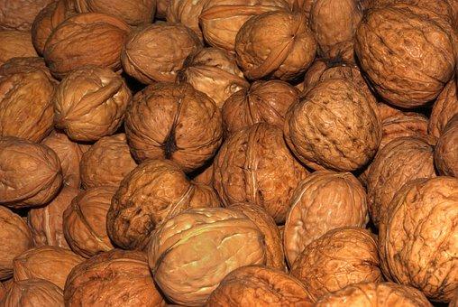 Walnuts, Nuts, Walnut, Nutrition, Food, Eat, Brown