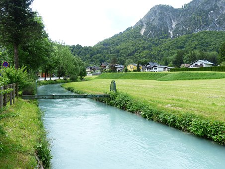 Berchtesgadener Ache, River, Bach, Waters