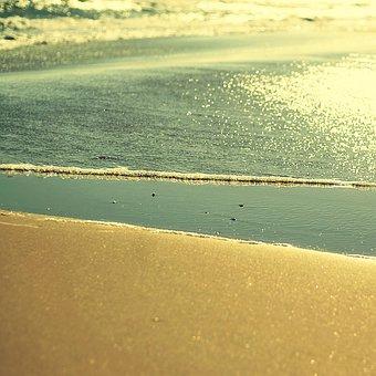 Beach, Sea, Water, Spain, Edge Of The Sea, Waves
