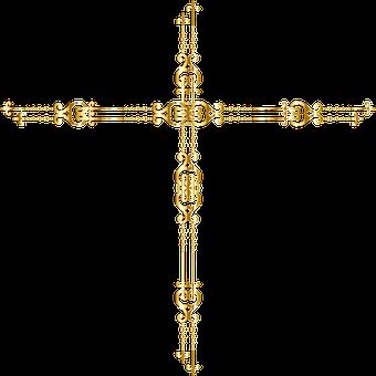 Jesus, Cross, Gold, Christ, Divine, Faith, God, Holy