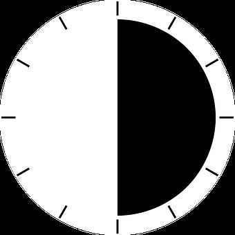 Half, Half Time, Half Life, Time, Minutes, Stopwatch