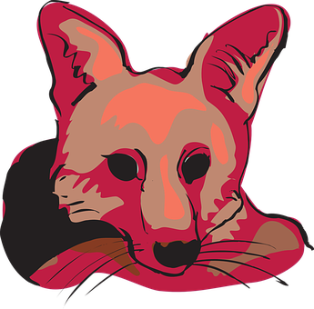 Head, Red, Face, Fox, Shades, Animal, Whiskers