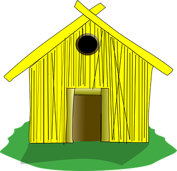 House, Home, Straw, Hay, Hut, Home