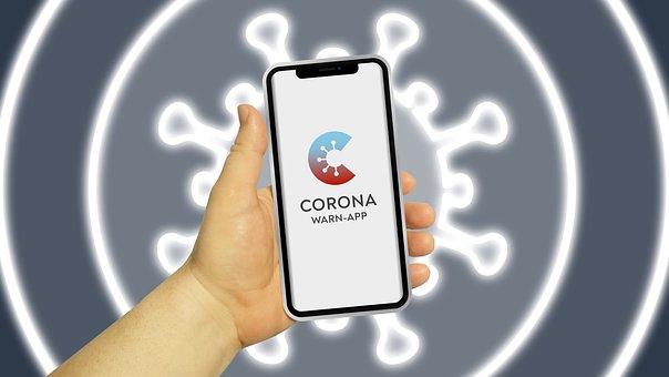 Mobile Phone, Corona-Warning-App