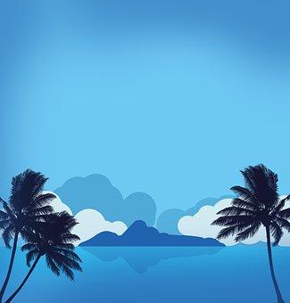 Island, Sea, Summer, Beach, Nature