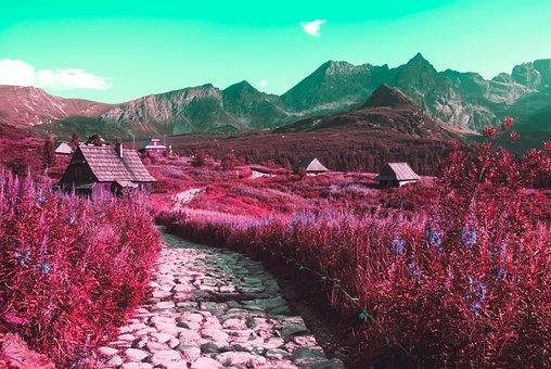 Path, Mountain, Landscape, Hiking, Mountains, Trail