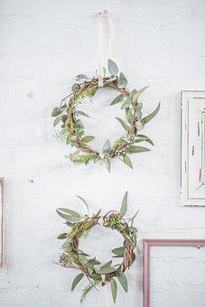 Wreath, Wedding, Round, Spring, Flower, Marriage, Frame