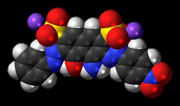 Amido, Black, 10b, Sodium, Molecule, Azo Dye, Chemistry