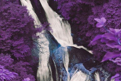 Leaf, Cascade, Leaves, Landscape, Fall, Water