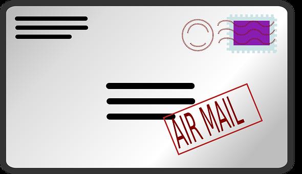 Airmail, Mail, Envelope, Post, Postal