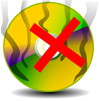 Burn A Disc, Canelled Disc, Damaged Disc