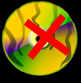 Burn A Disc, Canelled Disc, Damaged Disc, Cd, Dvd