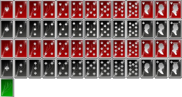 Ace, Cards, Club, Diamond, Heart, Jack, King, Oxygen