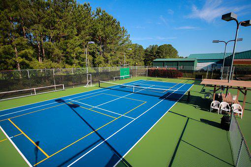 Asphalt Tennis Court, Tennis Court, Pickleball Court