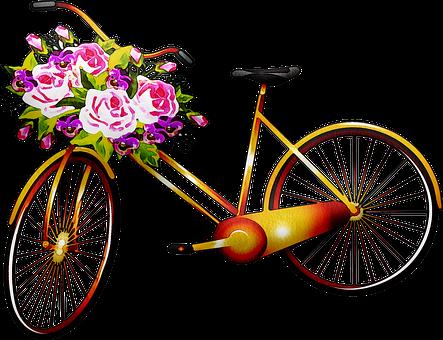 Watercolor Bicycle, Bicycle, Bike