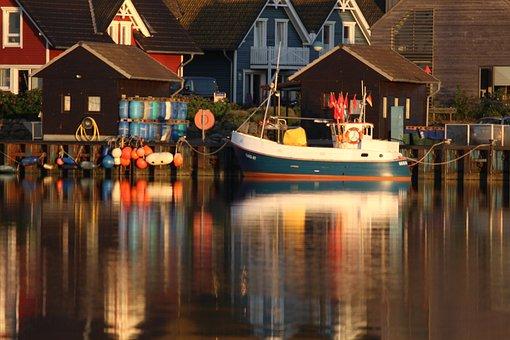 Fishing Boat, Fisherman, Gager, Rügen