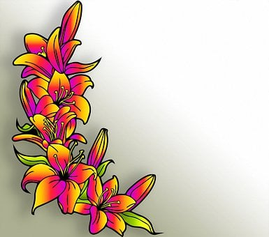 Background, Flowers, Floral, Colorful