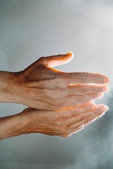 Hands, Light, Hand, Prayer, Technology