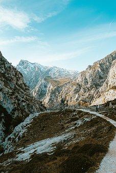 Mountain, Path, Hiking, Trail, Landscape