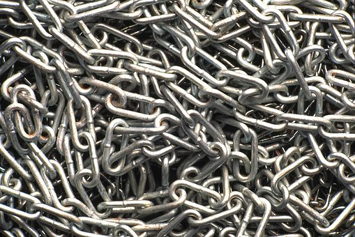 Chain, Link, Metal, Iron, Background, Rust, Steel