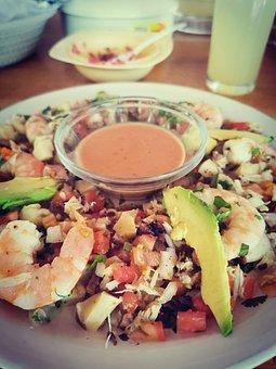 Salad, Ceviche, Food, Delicious, Sea