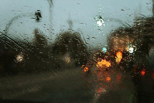 Waterdrops, Glass, Splashing, Splash