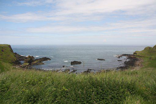 Ireland, Sea, Nature, Landscape, Blue