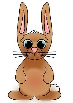 Easter, Bunny, Rabbit, Card, Background, Design, Cute