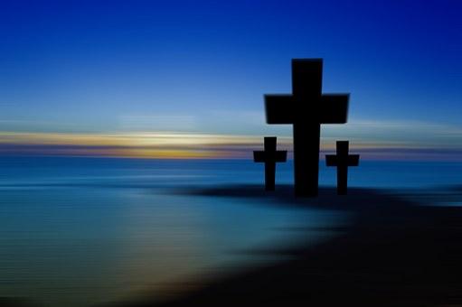Cross, Sunset, Sunrise, Hill, Sky, Sun