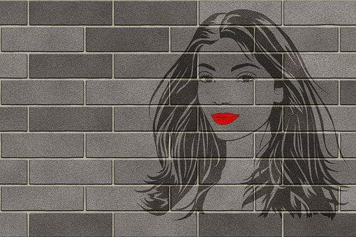 Graffiti, Texture, Wall, Brick