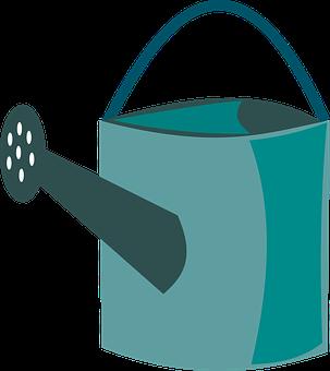 Watering Can, Watering, Can, Ewer, Equipment, Gardening