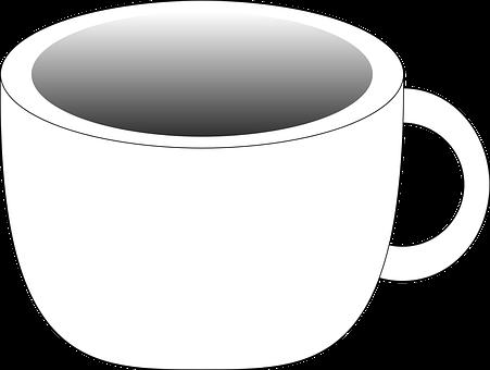 Cup, White, Tea, Coffee, Drinks, Beverages, Liquids