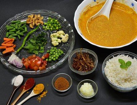 Biryani, Rice, Food, Cuisine