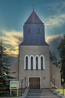 Church, Templin, Uckermark, City