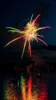 July 4Th, Fireworks, Independence Day