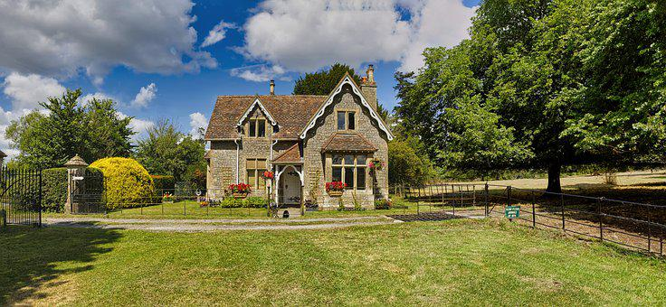 Lodge, Architecture, Tree, Cottage, House, Building