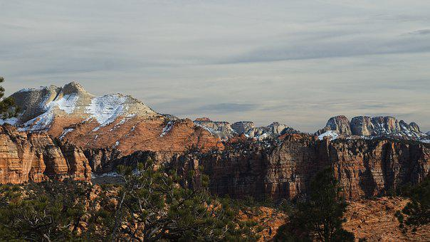 Zion, Mountains, Landscape, Utah, Scenic