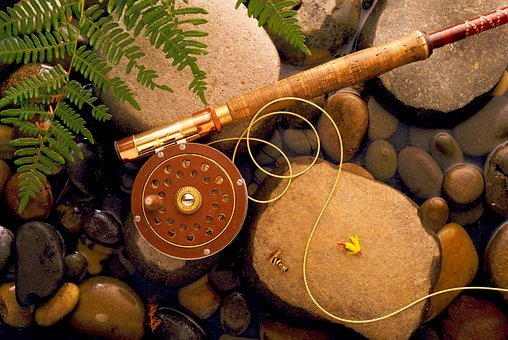 Fishing, Rod, The Rod, Coil, Bait, Scaffold, Hobby