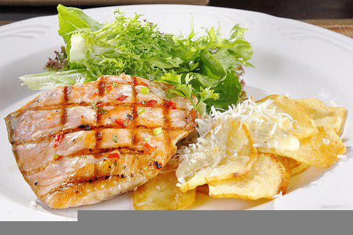 Salmon, Cheese, Food, Delicious, Cuisine, Breakfast