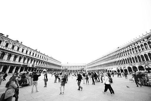 Venice, Venedig, Markusplatz, Summer