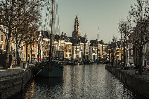Groningen, Netherlands, Holland, Historical, Old Town
