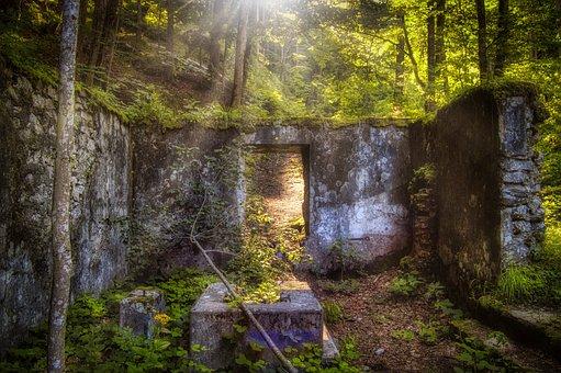 Masonry, Wall, Old, Ruin, Architecture, Historically