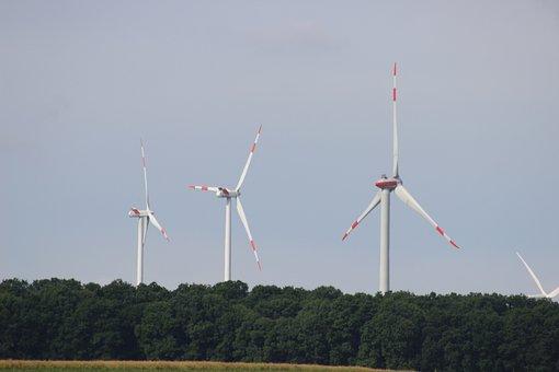 Pinwheel, Windräder, Wind Power